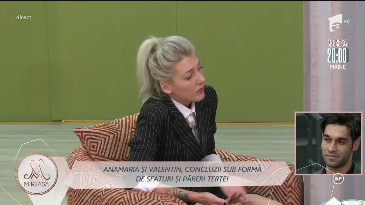Anamaria și Valentin, concluzii sub formă de sfaturi și păreri terțe