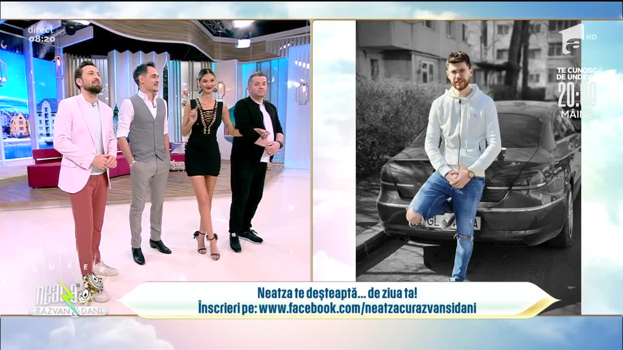 Neatza cu Răzvan și Dani te deșteaptă... de ziua ta! La mulți ani, Ștefan!