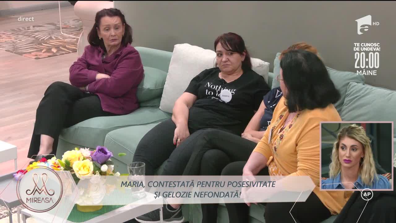Maria, contestată de mame pentru posesivitate și gelozie nefondată la adresa lui Liviu