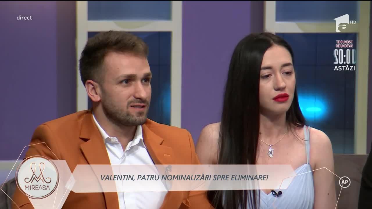 Mireasa 2021, sezon 3. Răsturnare de situație în cazul eliminării lui Valentin și a doamnei Ioana