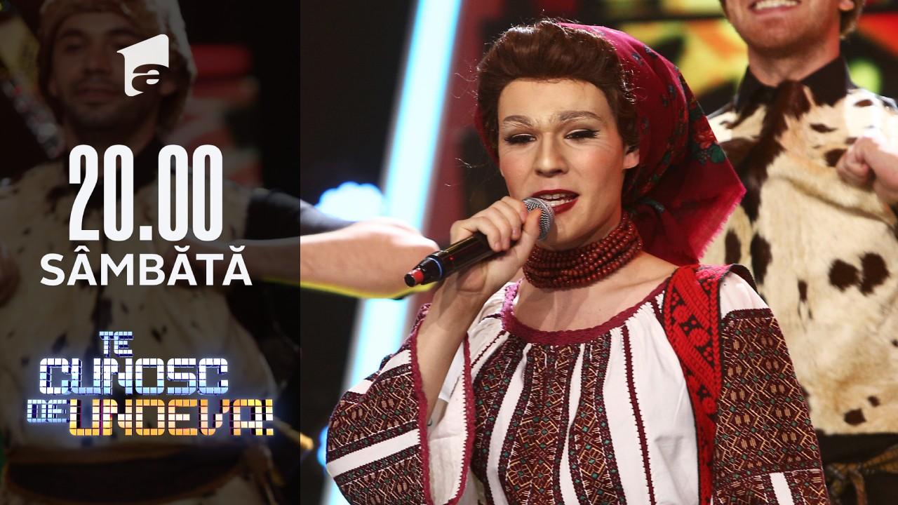Radu Ştefan Bănică se transformă în Sofia Vicoveanca - Haida roată măi flăcăi