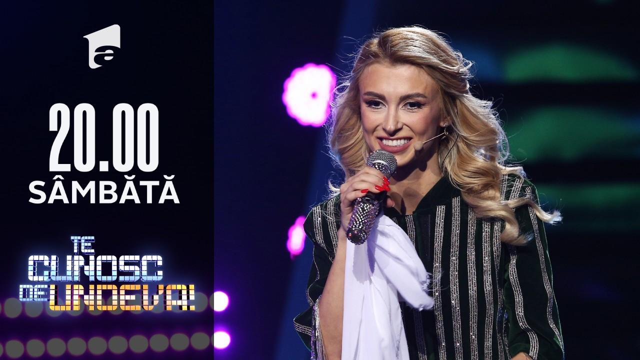 Andreea Bălan, show muzical pe scena Te cunosc de Undeva