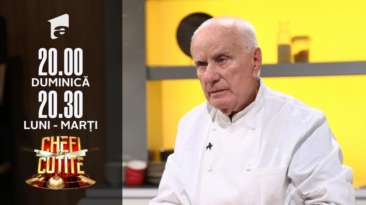 Gheorghe Vătafu, maestru în arta culinară, a lucrat în bucătărie peste 60 de ani: Am primit bacșiș de la președintele Iugoslaviei!
