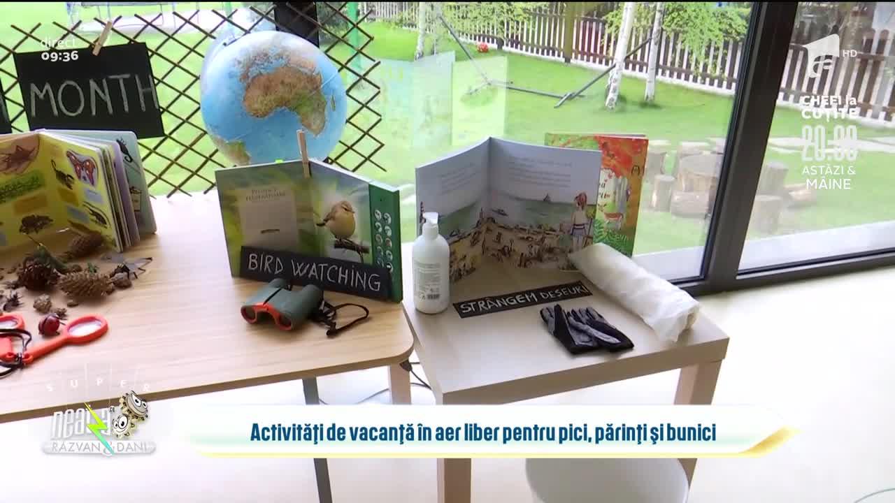 Activități de vacanță în aer liber pentru pici, părinți și bunici