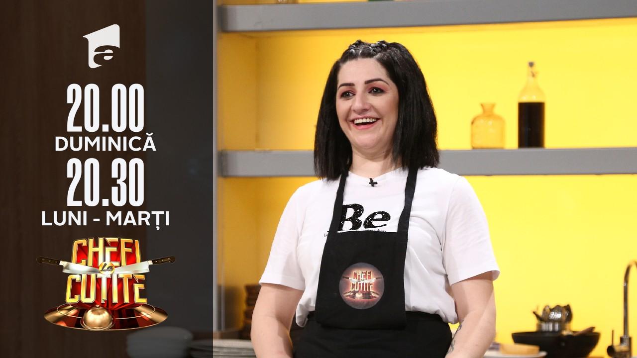 Carmen Fătu, rețetă unică la Chefi la Cuțite. Chef Dumitrescu: Este genul de mâncare la care trebuie neapărat să bei țuică!