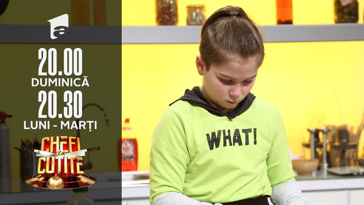 Matei Sevestrean, copilul acrobat de la Chefi la Cuțite: Am caștigat locul 1 la Campionatul Mondial!