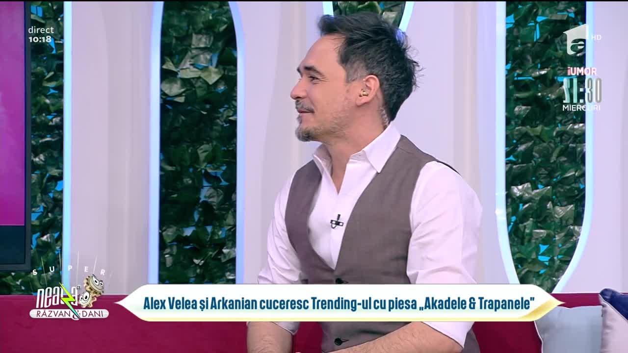 """Alex Velea și Arkanian cuceresc treding-ul cu piesa """"Akadele & Trapanele"""""""