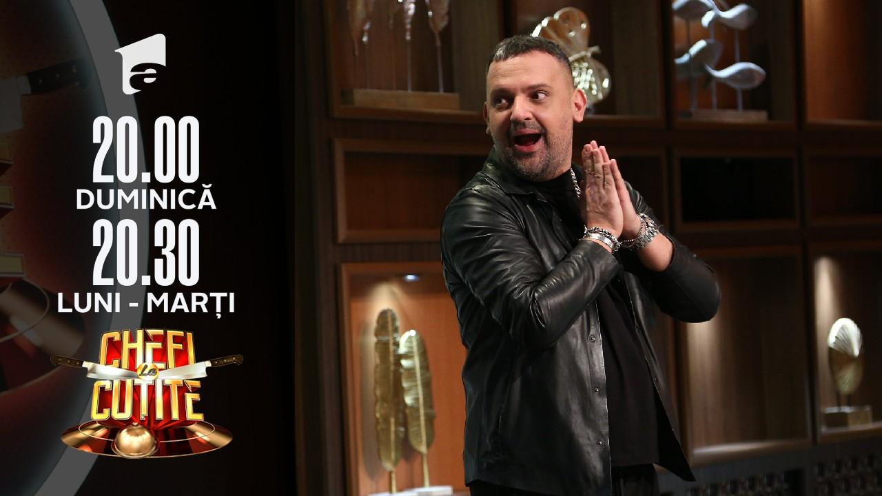 Mircea Bărbulescu, stilistul emisiunii Chefi la Cuțite, la judecata chefilor. Cum i-a caracterizat pe jurați
