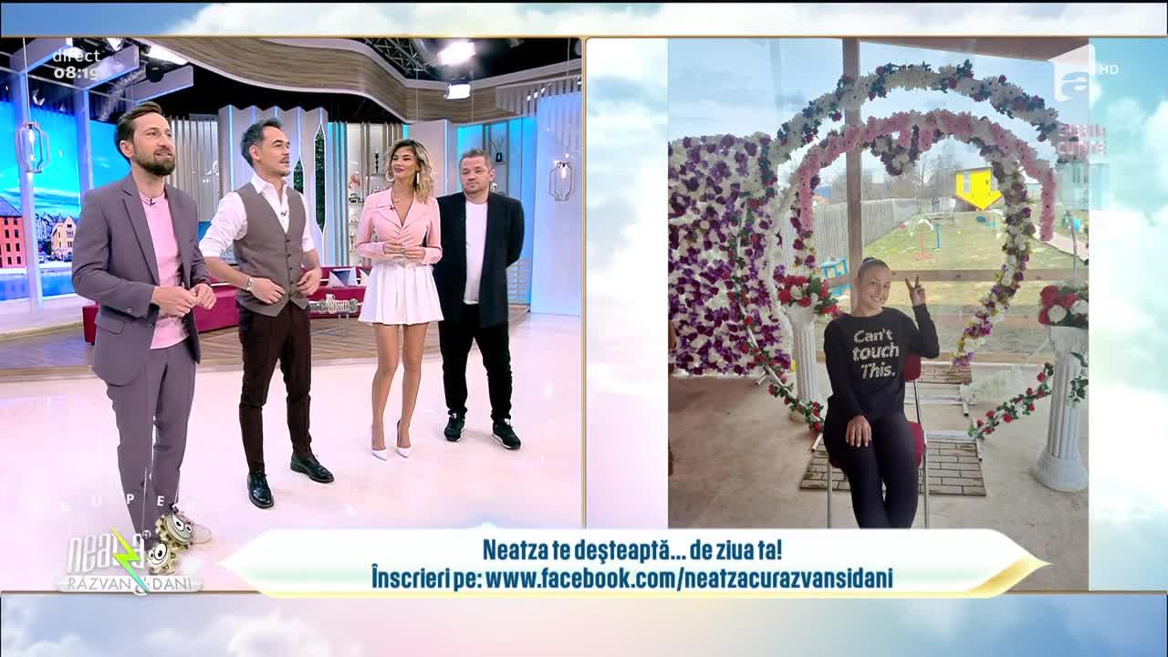 Neatza cu Răzvan și Dani te deșteaptă... de ziua ta! La mulți ani, Larisa!