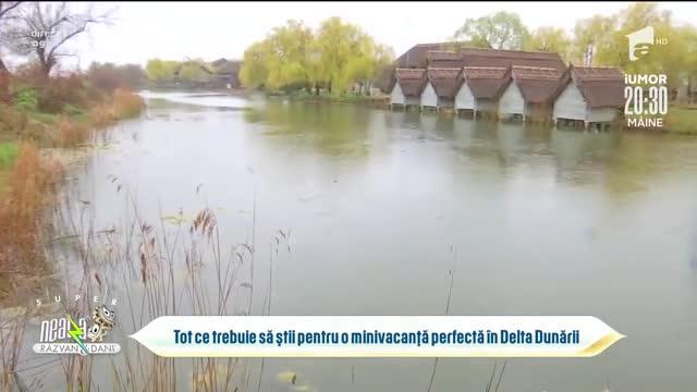 Delta Dunării, destinația pentru o vacanță în siguranță