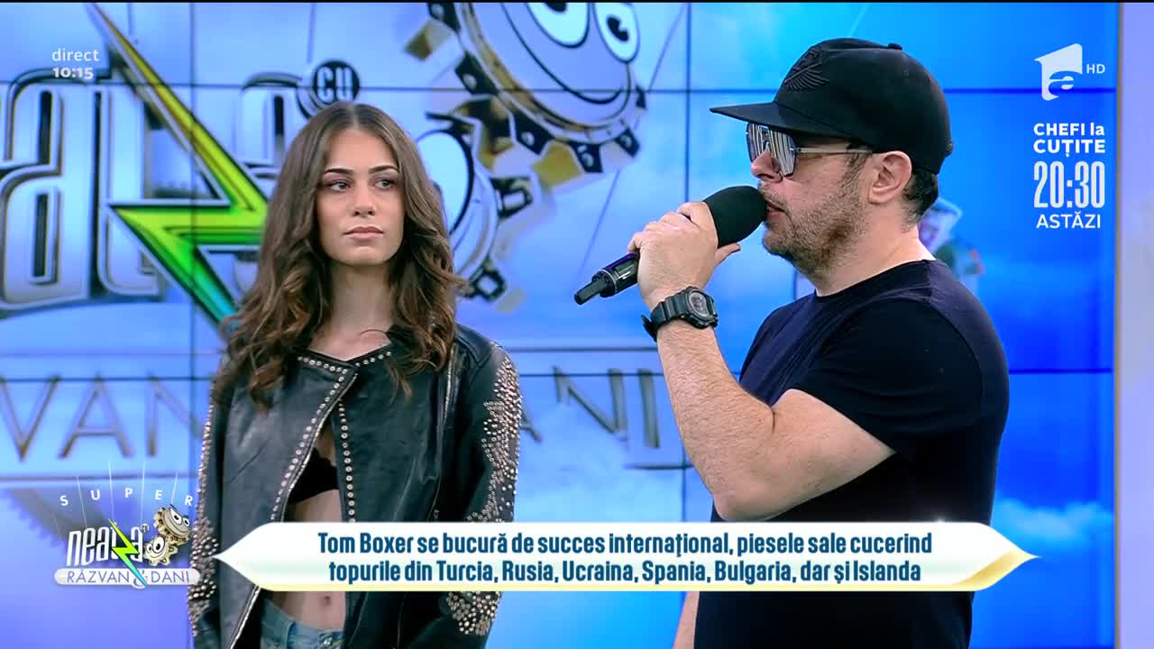 "Tom Boxer, super apariție la Neatza: ""Am rămas pe stilul de club"""