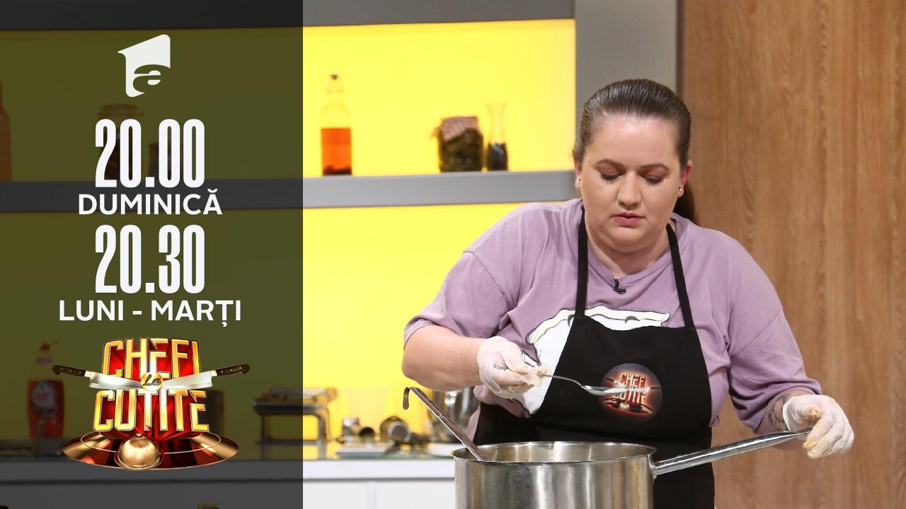 Ancuța Struț a gătit mâncare tradițională: Îmi pun sufletul în farfurie