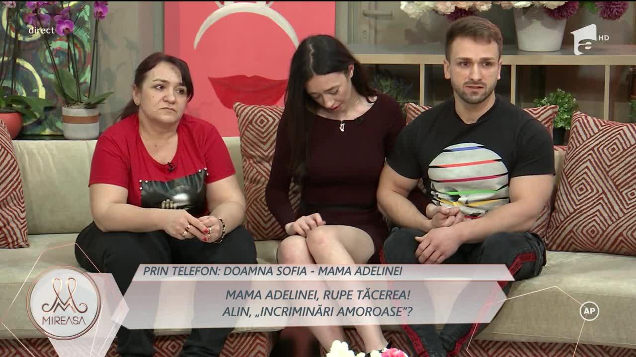 "Doamna Sofia, mama Adelinei: ""Daniela, de ce îmi cerți fata?"""