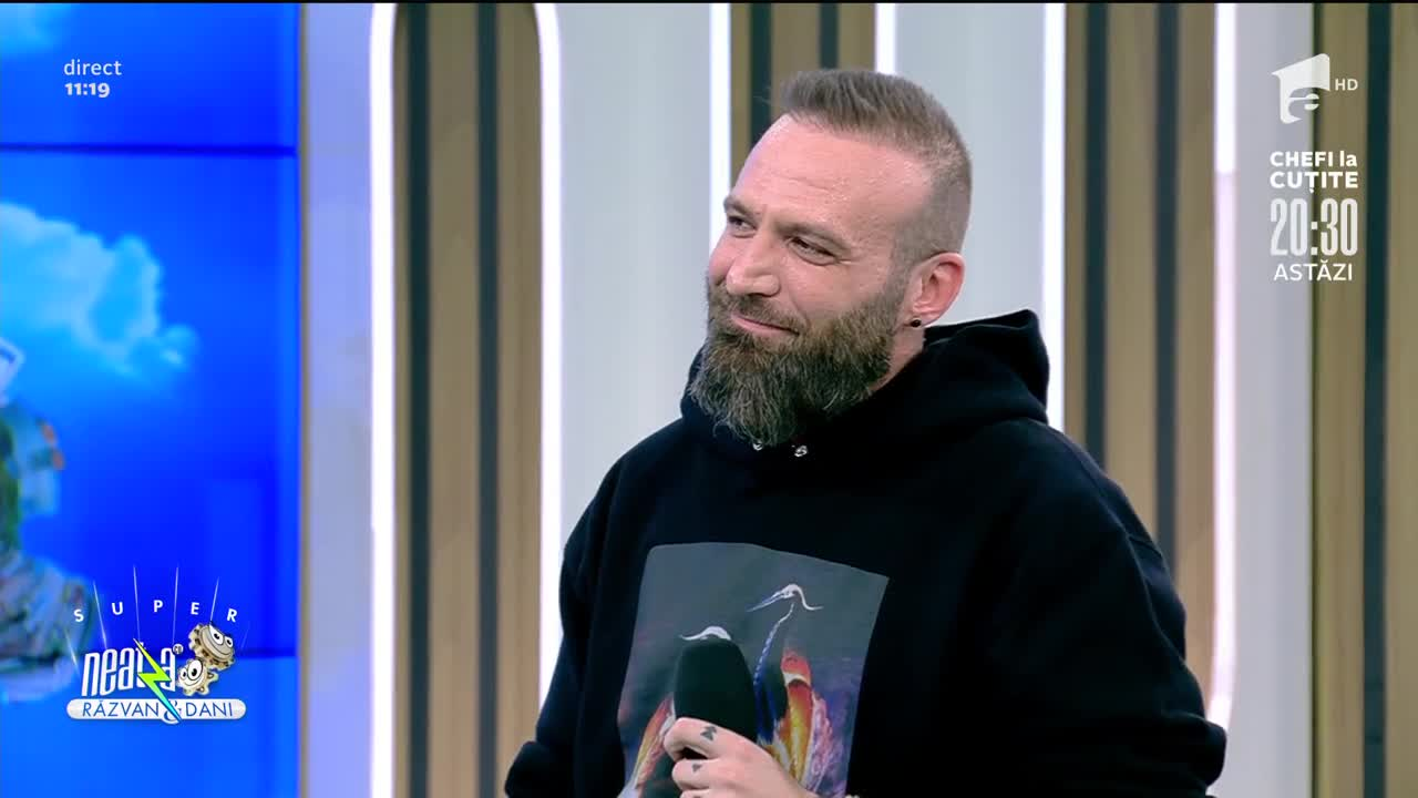 Cortes lansează videoclipul Binecuvântat, la Super Neatza