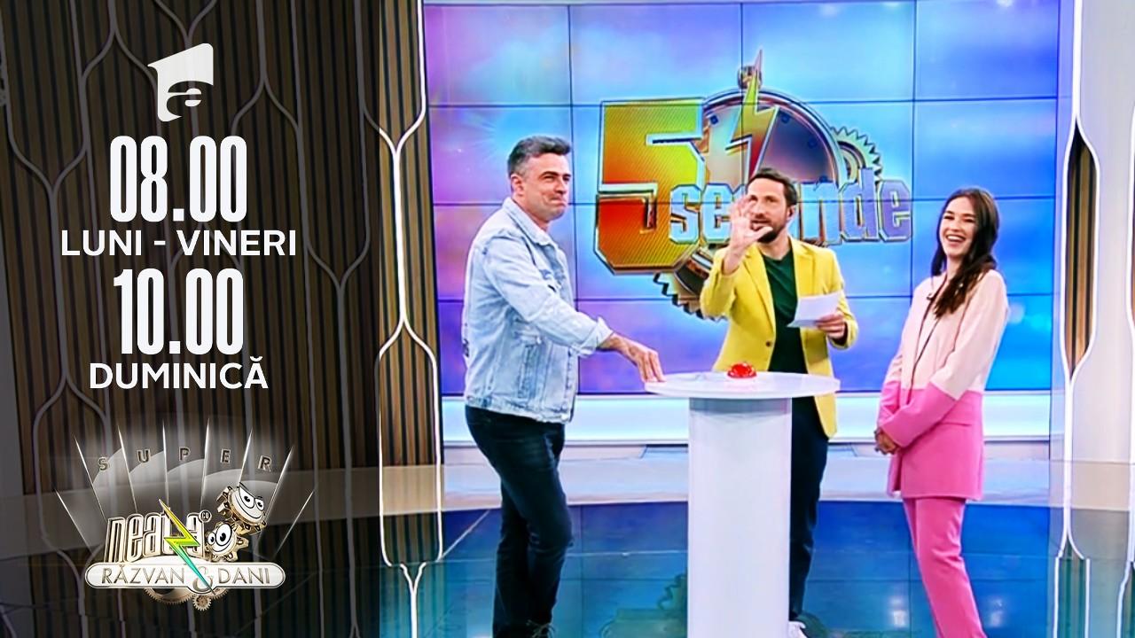 Provocarea 5 secunde: Cornel Ilie vs. Ioana Ignat