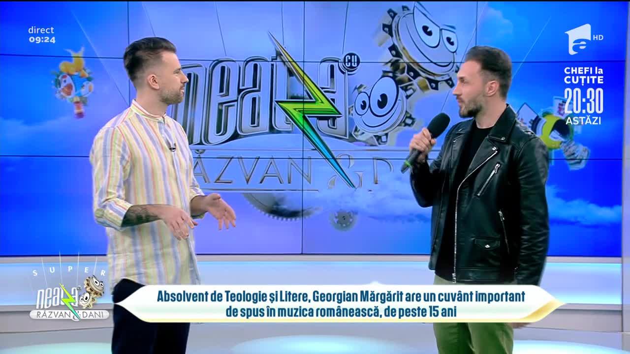 """Georgian lansează piesa de dragoste """"Ce bine e"""""""