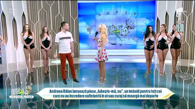 """Andreea Bălană lansează piesa """"Iubește-mă, nu"""""""