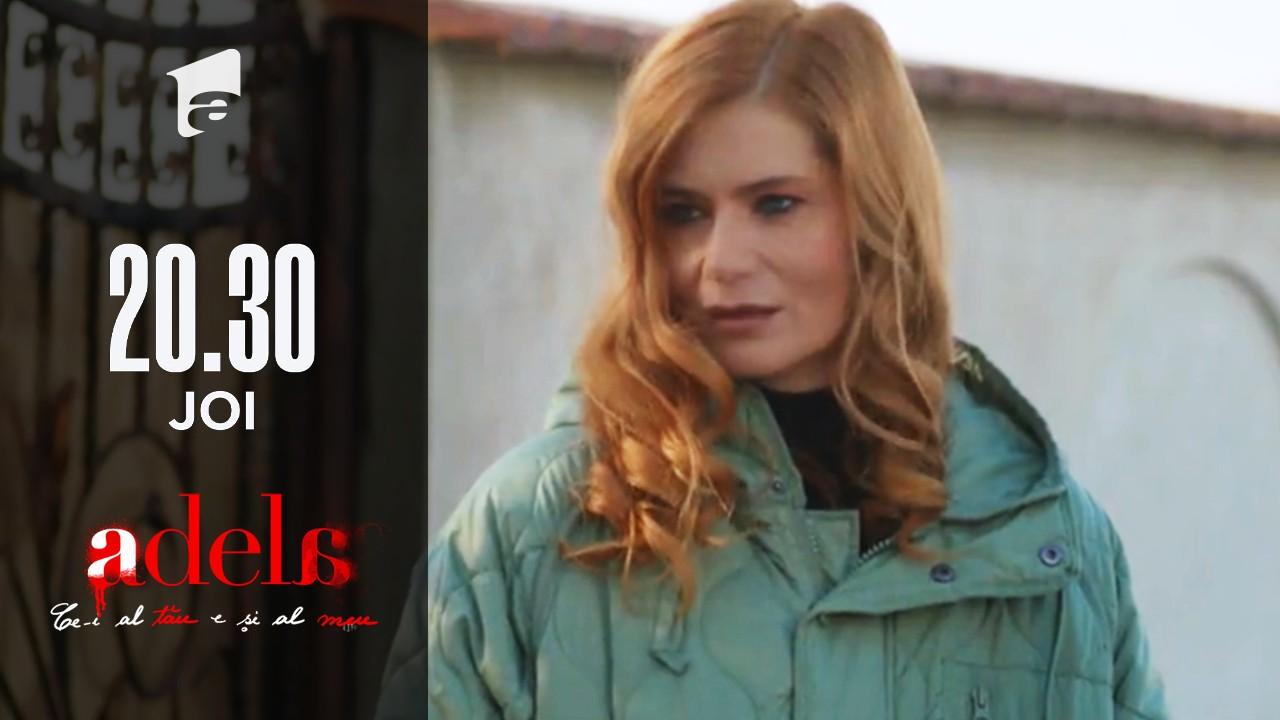 Adela, episodul 30. Delia Drăghici, scandal pe marginea șoselei cu amanta soțului ei