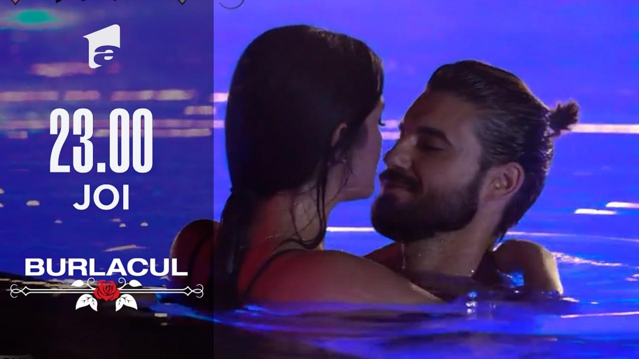 Burlacul Andi și Simona Bălăceanu, scene fierbinţi în piscină: Intențiile mele nu au fost cele mai curate