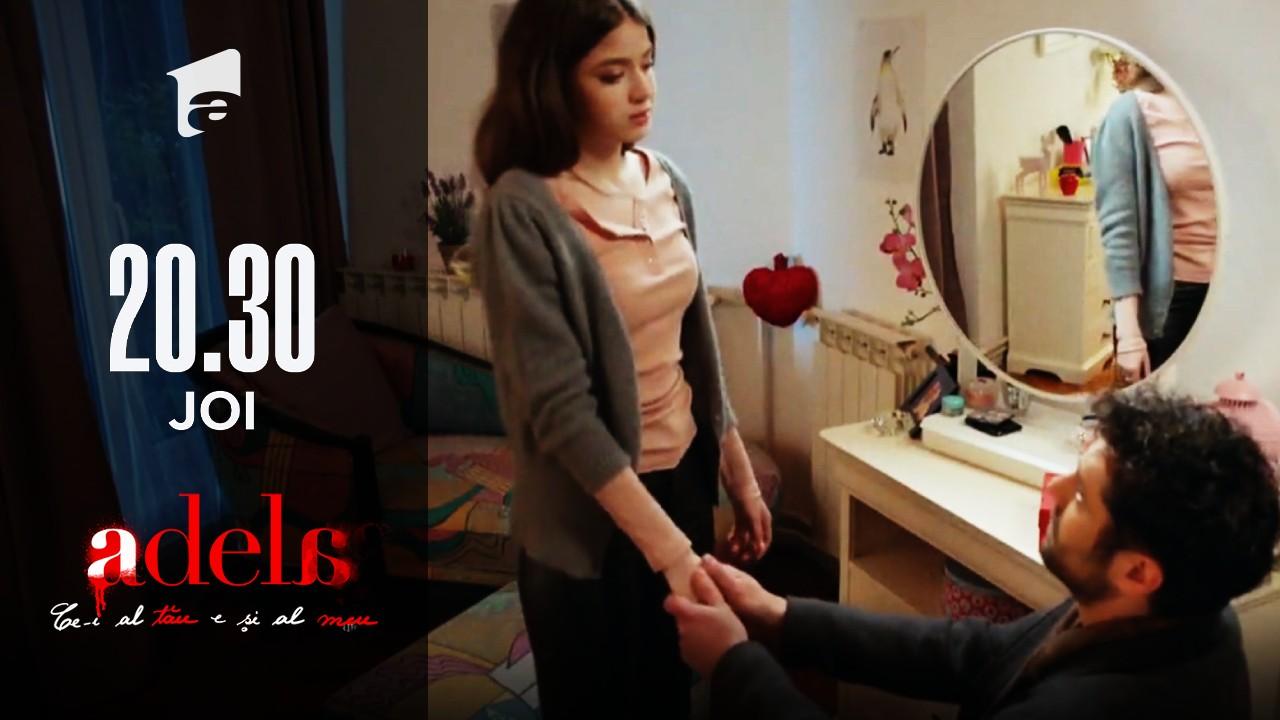 Adela, episodul 29. Mihai, în genunchi în fața Adelei. Ce i-a promis