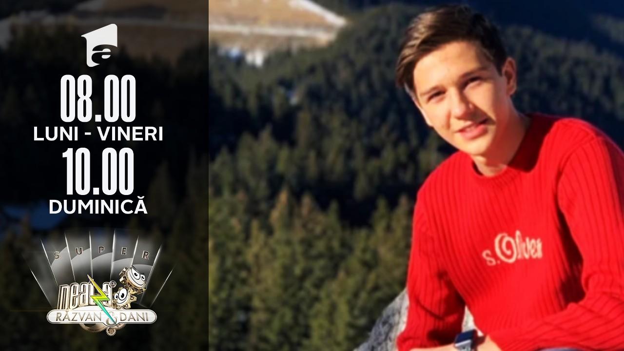 Neatza cu Răzvan și Dani te deșteaptă... de ziua ta! La mulți ani, Daniel!