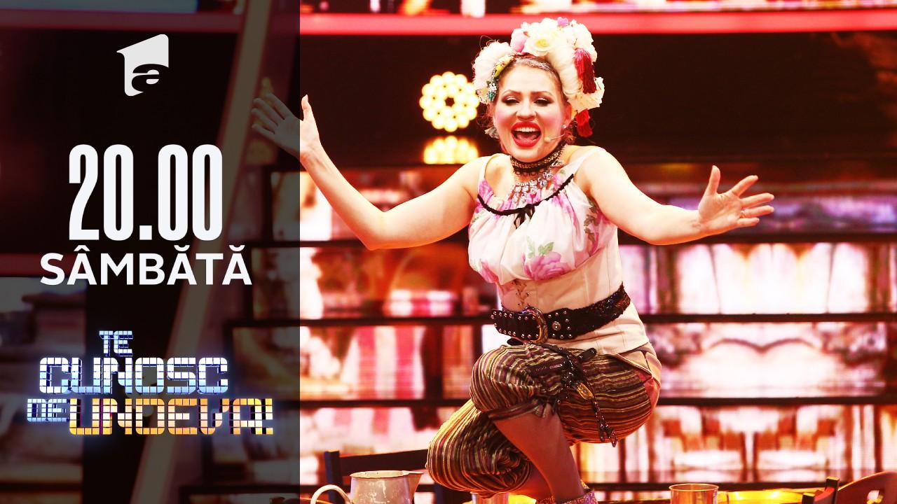 Mirela Vaida se transformă în Gwen Stefani - Rich girl