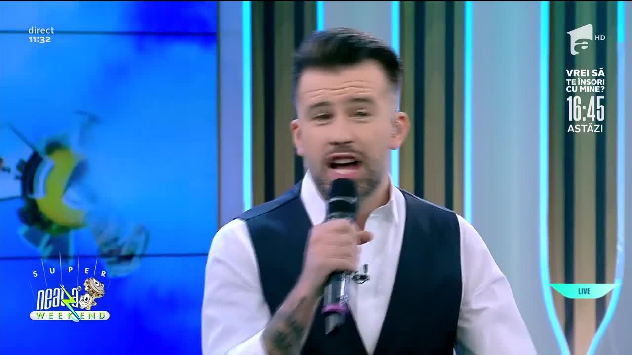 """Florin Ristei și Adrian Nour, super duet la Neatza! Ascultă aici """"Englishman in New Yourk""""!"""