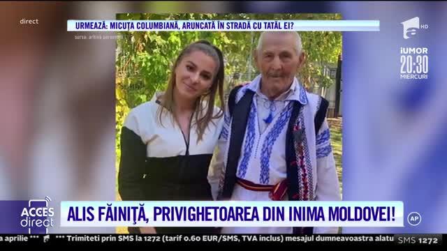 Alis Făiniță, privighetoarea din inima Moldovei, și-a amenajat locuința exact pe gustul său
