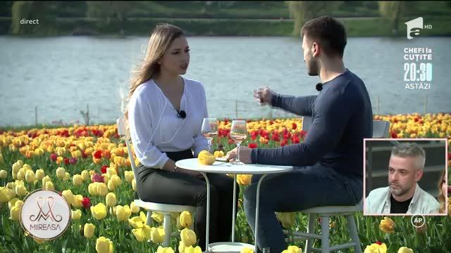 Alina și Alin, întâlnire în lanul cu lalele. Reacția de gelozie a Adelinei