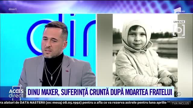 Fratele lui Dinu Maxer a fost omorât într-un mod cumplit, iar vinovatul ar fi încă în libertate