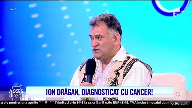 Ion Drăgan, diagnosticat cu cancer: Am avut o tumoare pe coloana, sunt operat la coloană de vreo cinci ori!