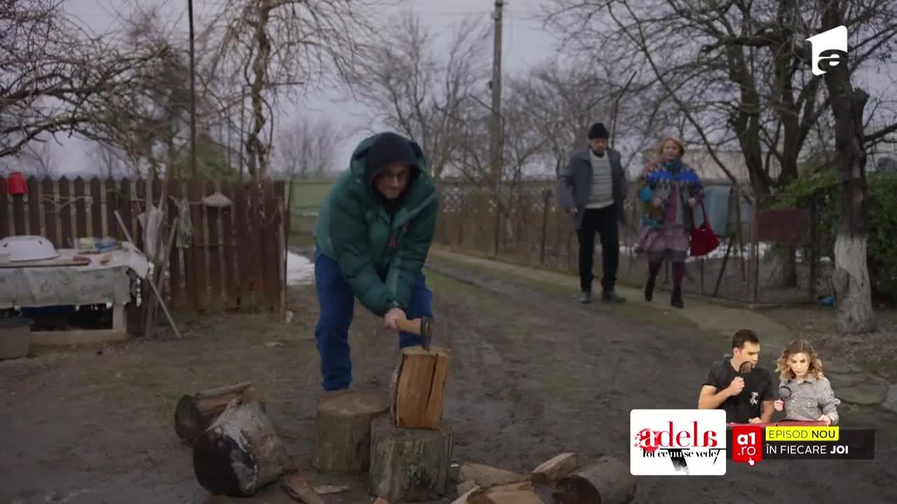 Adela, episodul 32. Părinții Adelei vor să-l dea afară din casa lor pe soțul Deliei: Vă plătesc chirie, o să am grijă de casă!