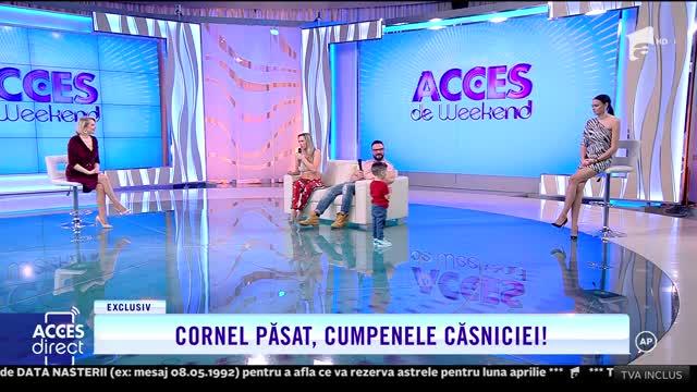 Bianca și Cornel Păsat, cumpenele căsniciei: Încercăm să fim un exemplu pentru cel mic!