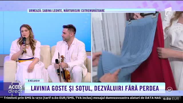 Lavinia Goste și soțul, dezvăluiri fără perdea: Îmi lipsește foarte mult cântatul!
