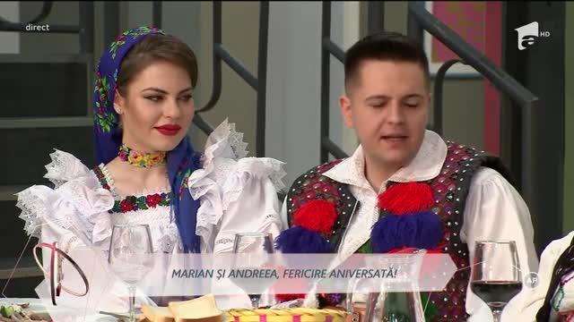 Marian și Andreea sărbătoresc o lună de relație
