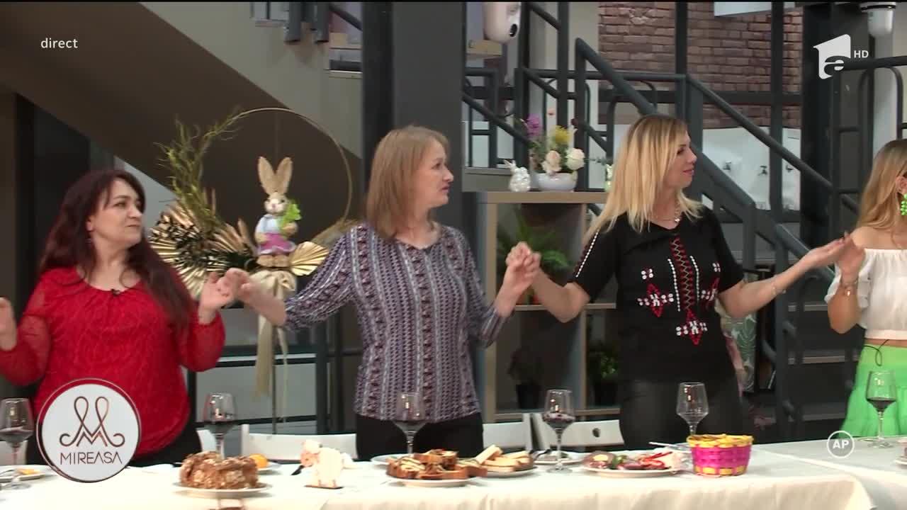 Maria Cîrneci face spectacol în a doua zi de Paște, în casa Mireasa
