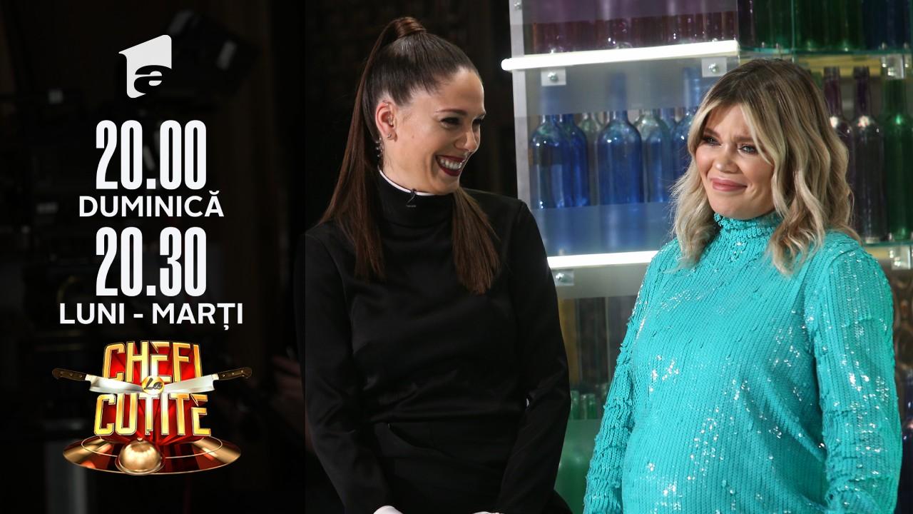 Surprize în noul sezon Chefi la cuțite! Irina Fodor, soția lui Răzvan Fodor, o va înlocui pe Gina Pistol