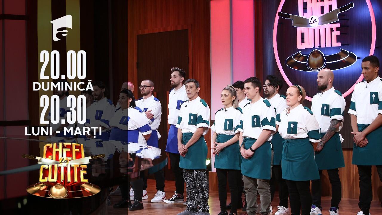 Radu Micu, eliminat din competiția Chefi la Cuțite!