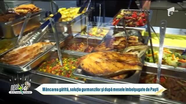 Mâncarea gătită, soluția gurmanzilor și după mesele îmbelșugate de Paști