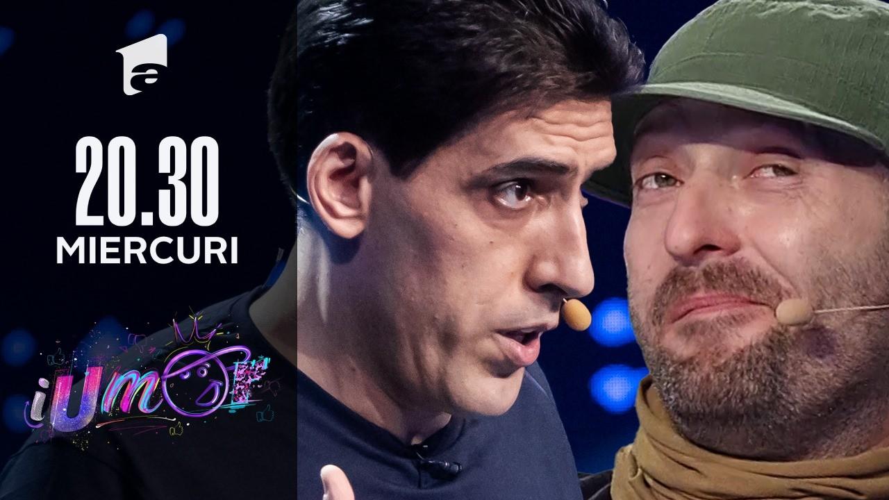 """Petrișor Obae, super roast la iUmor: """"Ce am eu cu Antena1?"""" :D Hai să vezi ce i-a zis si lui Mihai"""