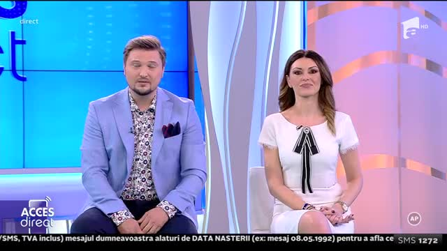 Cosmina Adam, apariție incendiară la Acces Direct!