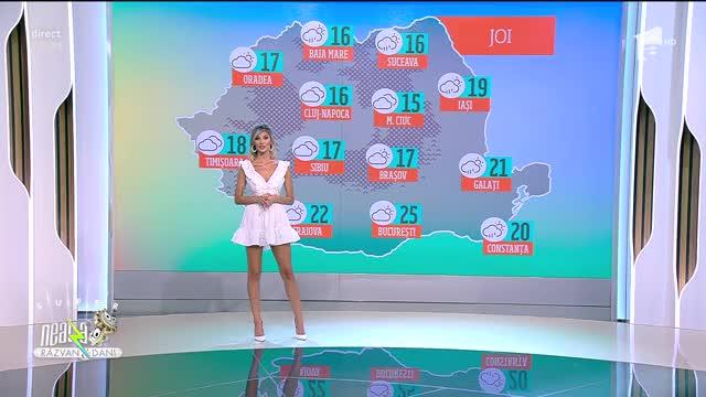 Prognoza Meteo, 5 mai 2021. Vreme caldă, dar ușor instabilă