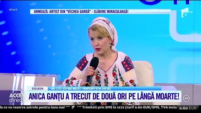 Anica Ganţu, la graniţa dintre cele două lumi! Artista s-a trezit la morgă, după ce a fost declarată decedată!