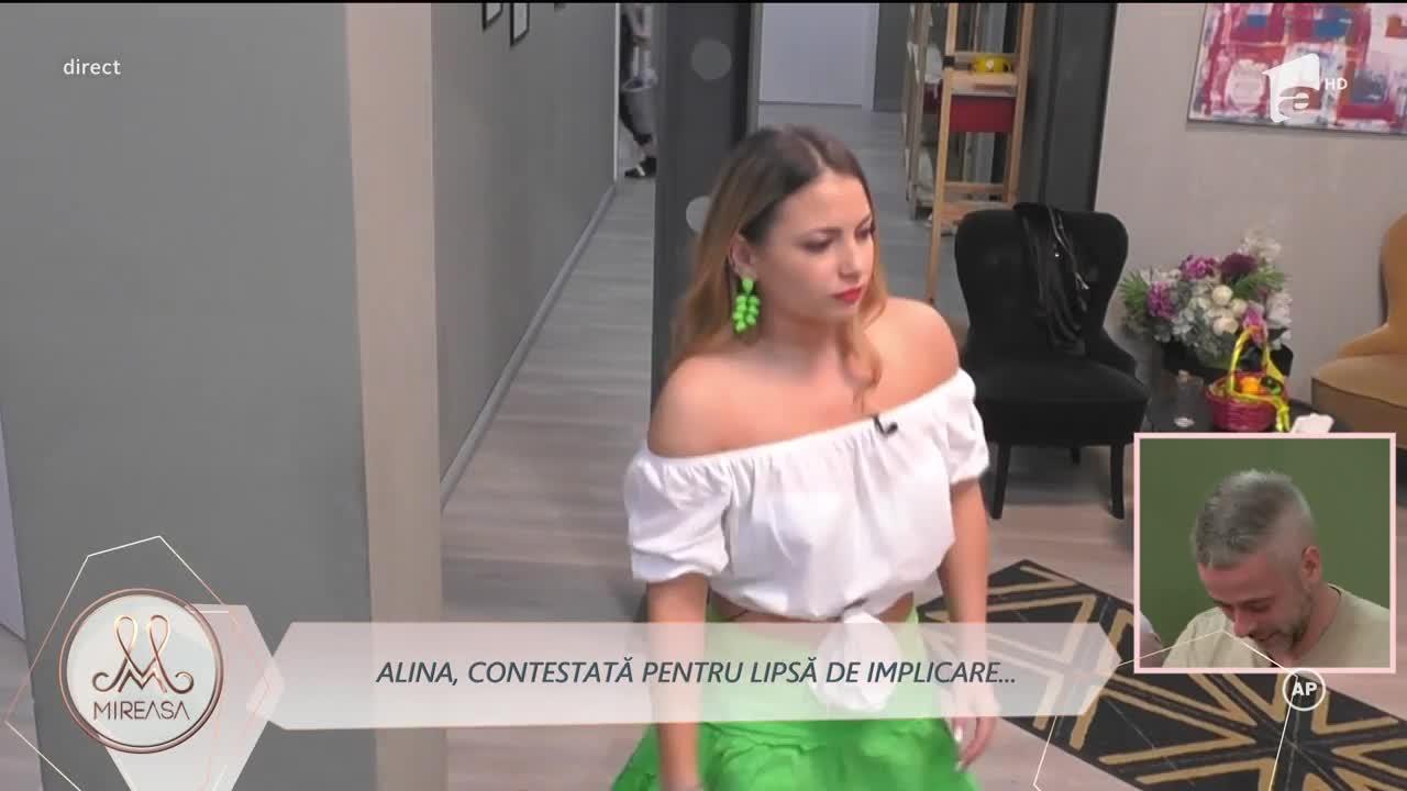 Alina, contestată de fete pentru lipsa de implicare în relația cu Bogdan