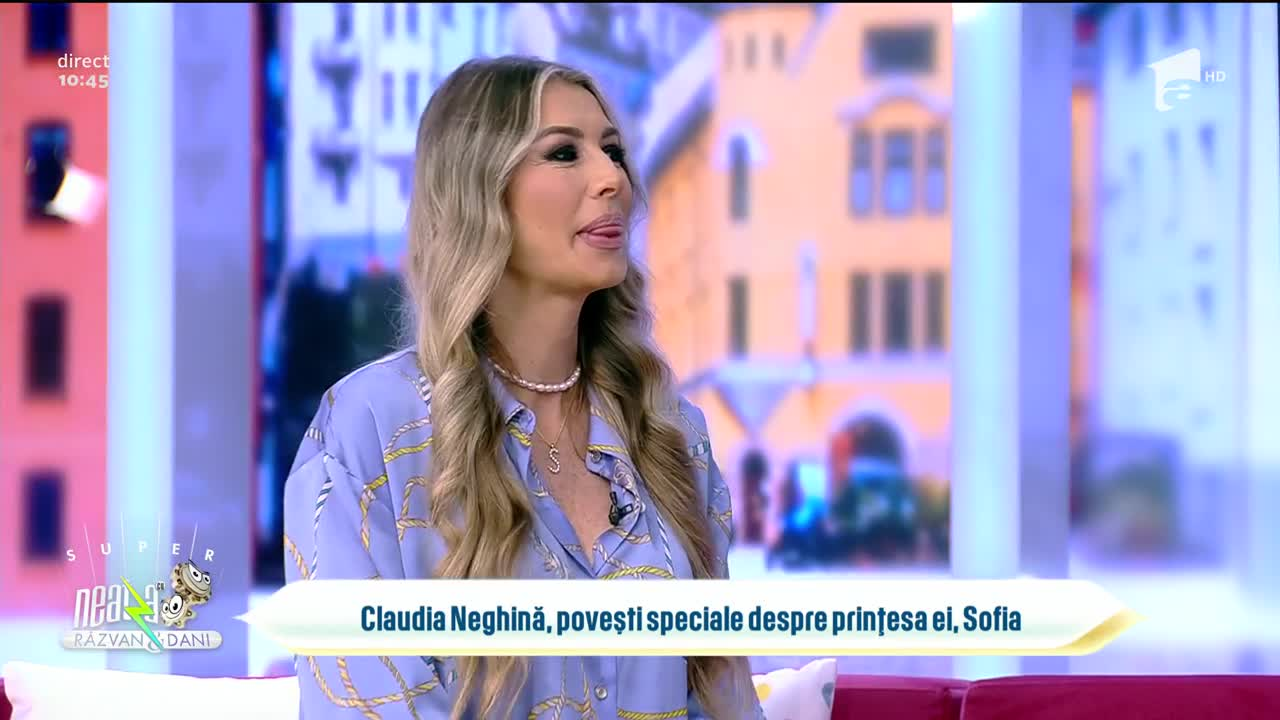 Claudia Neghină, povești speciale despre prințesa ei, Sofia