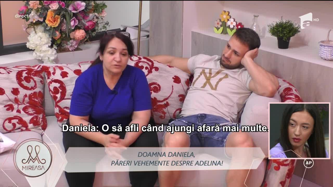 Doamna Daniela, păreri vehemente despre Adelina: Acum îl așteaptă pe Radu, să te facă gelos!
