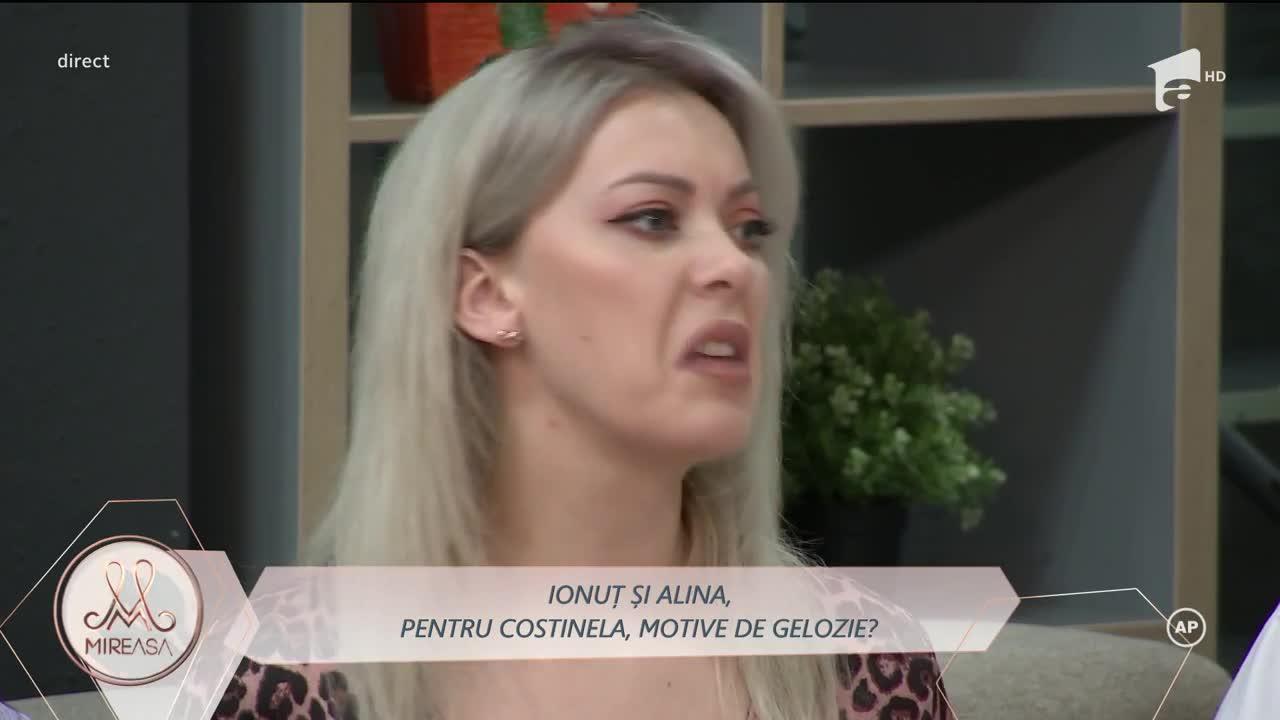 Costinela condamnă atitudinea și joaca Alinei alături de Ionuț