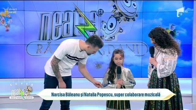 Narcisa Băleanu și Natalia Popescu cântă piesa Drag mi-e să mă duc la munte, la Neatza cu Răzvan și Dani