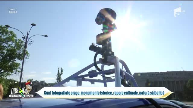 """Mașina care fotografiază locuri interesante din România pentru ca tu să poți """"călători"""" din canapea"""