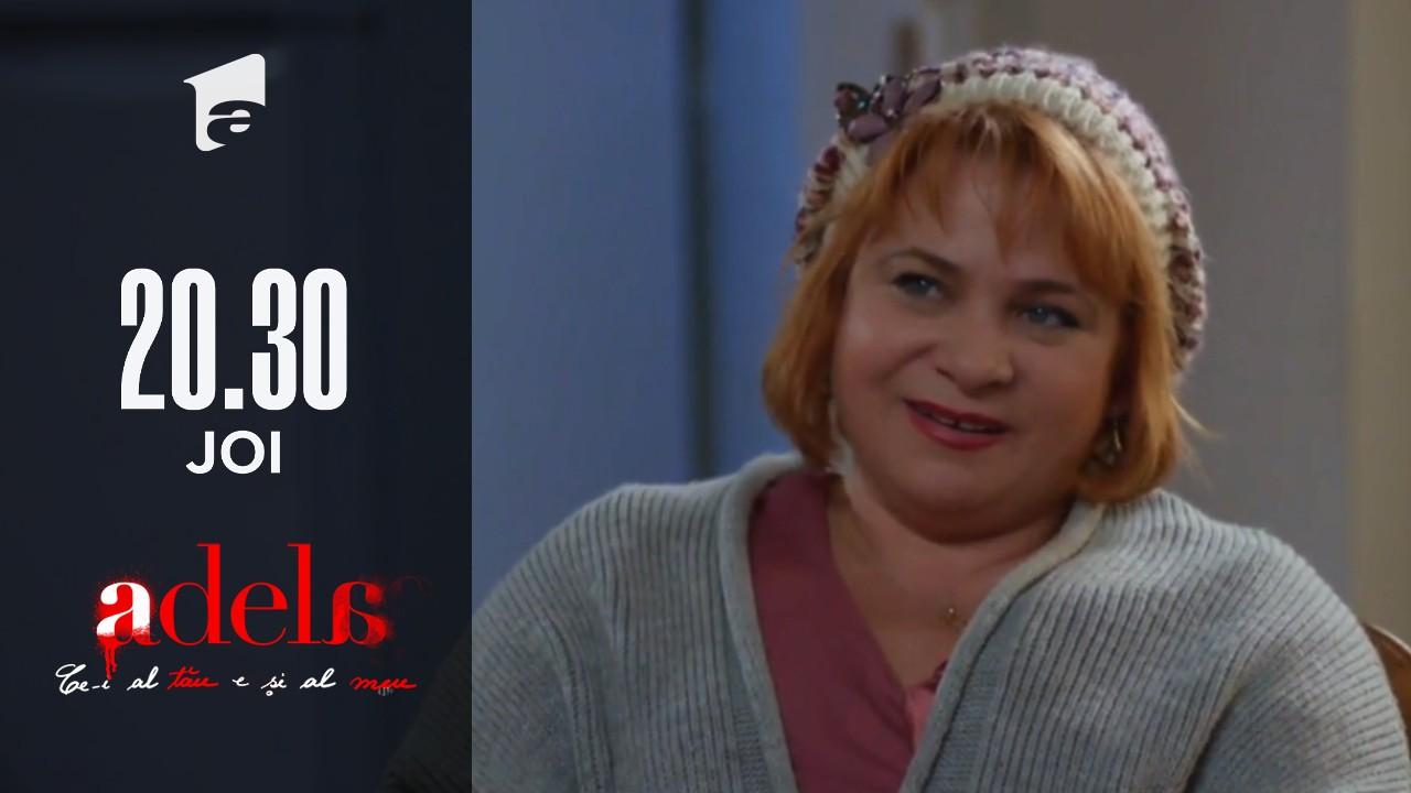 Adela, episodul 33. Nuți Achim îl otrăvește pe Mitu: I-am pus puțin zahăr